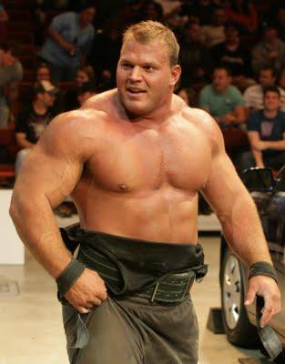 Derek Poundstone - Worlds Strongest Man Competitor