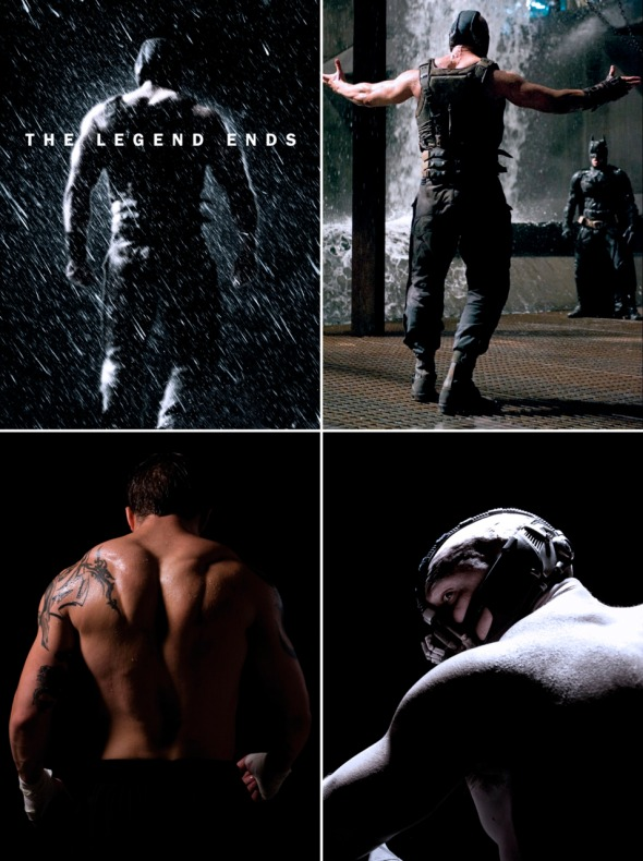 Tom Hardy's Back