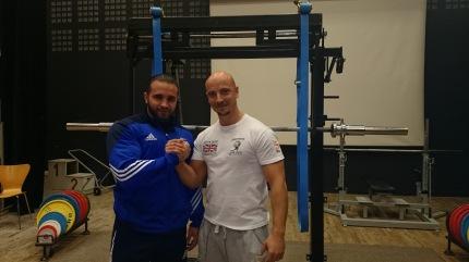 Gold Medalist Julien Barrere and Silver Medalist Steve Arnold